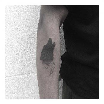 Spirit of a wolf tattoo