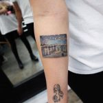 Starry Night over the Rhône tattoo by Eva Krbdk