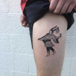 The fool tattoo by yeahdope