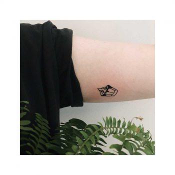 Tiny sundae tattoo