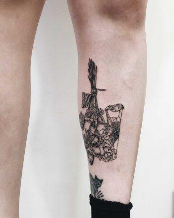 Upside down flower bouquet by Finley Jordan