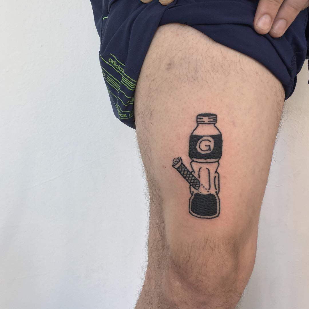 Beug tattoo by tattooist yeahdope