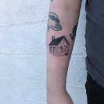 Cottage tattoo by artist yeahdope