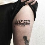 Deep cuts tattoo by Julim Rosa