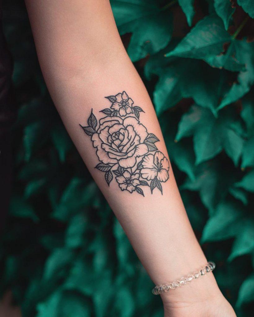 Flowers by Dżudi Bazgrole