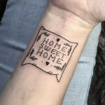 Home sweet home tattoo by Julim Rosa