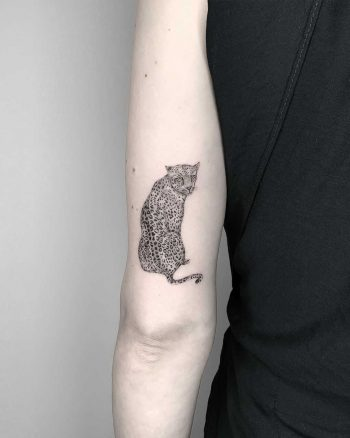 Leopard tattoo by Conz Thomas