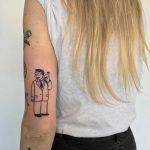 Lionel Hutz tattoo by artist yeahdope