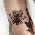 Little buzzer tattoo by Deborah Pow