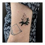 Little campfire tattoo by Sabrina Parolin