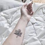 Maple leaf by anton1otattoo