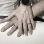 Matching ohana tattoos by Gianina Caputo