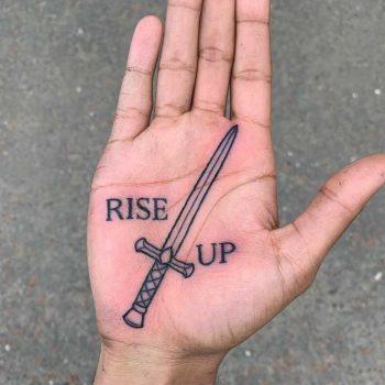 Rise up tattoo by Luke.A.Ashley