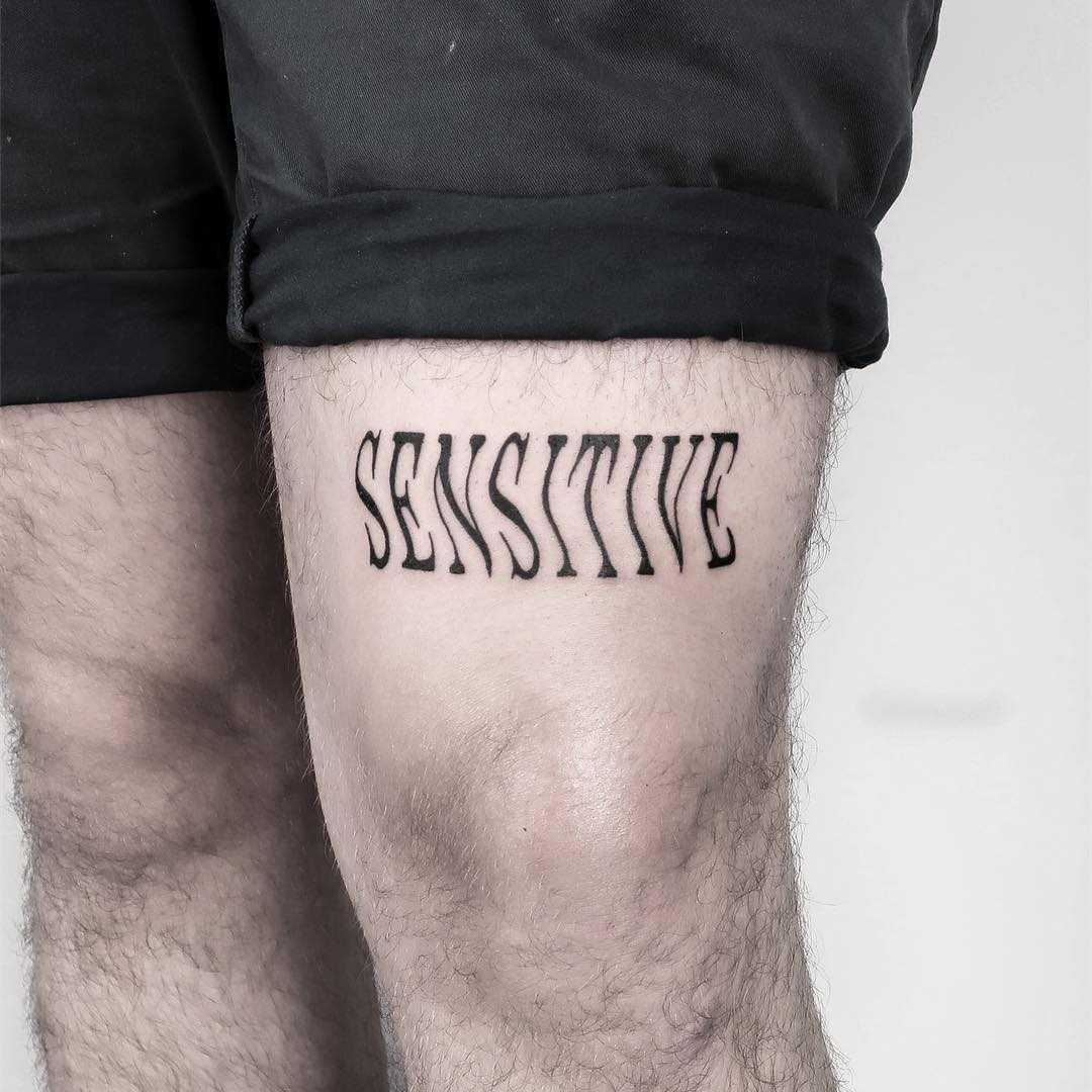 Sensitive tattoo by Julim Rosa