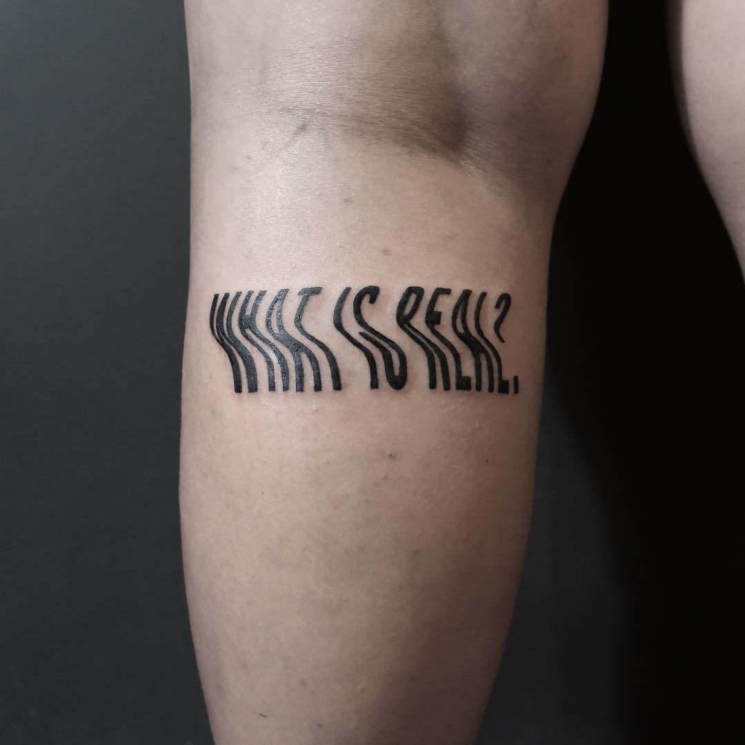 What is real tattoo by Julim Rosa