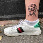 3D Lisa Simpson tattoo by yeahdope