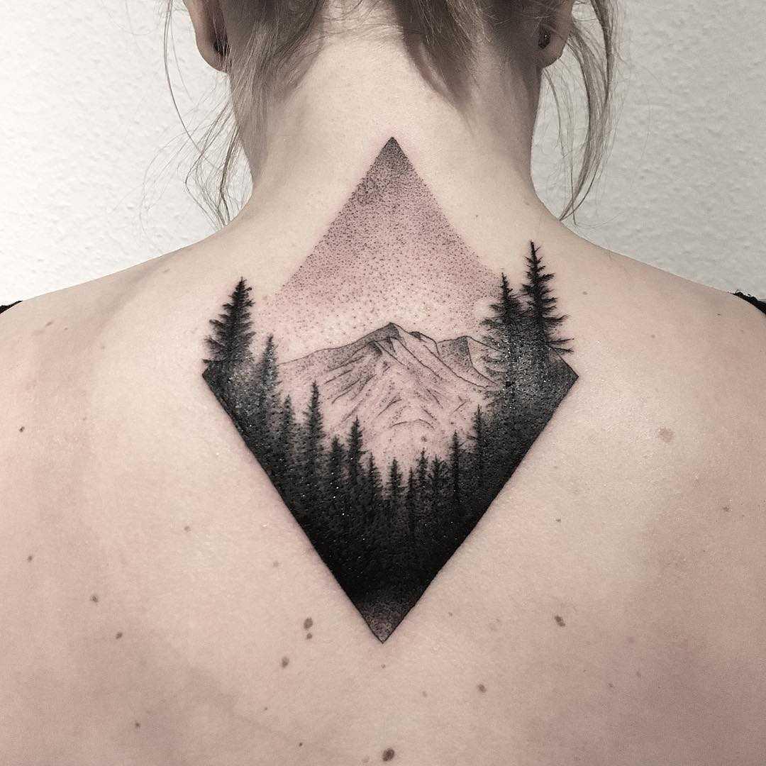 Alpenspitze tattoo by tattooist Spence @zz tattoo