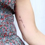 As you are tattoo by Zaya Hastra