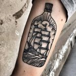 Boat in a bottle by Mike Nofuck