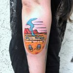 Breaking Bad tattoo by Eugene Dusty Past