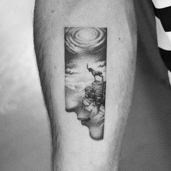 Capricorn tattoo by Amanda Piejak