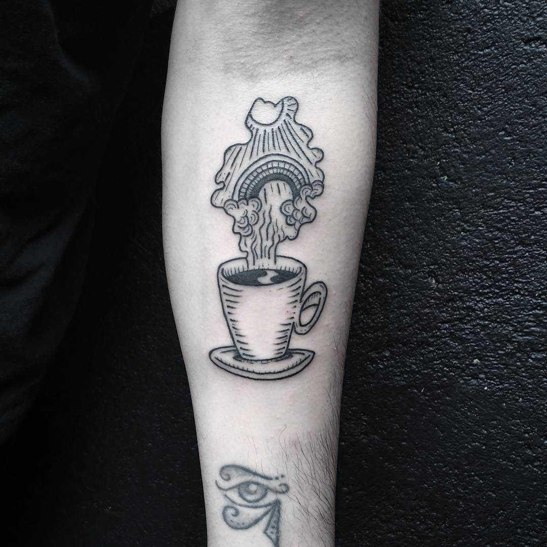 Coffee by Artist Meritattoon