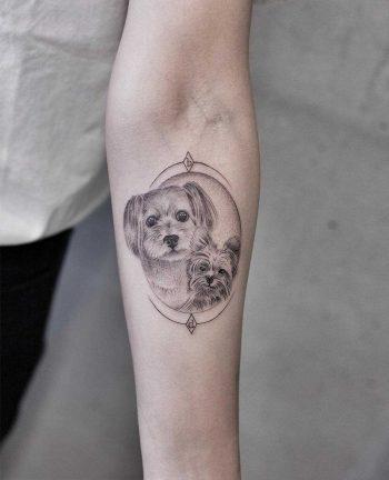 Doggies by Aki Wong