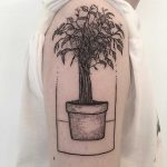 Ficus tattoo by tattooist Spence @zz tattoo