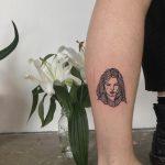 Girl tattoo by tattooist yeahdope