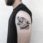 Good boy tattoo by yeahdope
