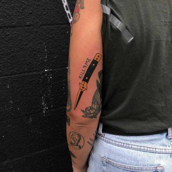 Kill me by tattooist yeahdope
