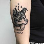 Laika tattoo by Miedoalvacio