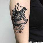 Laika tattoo by Miedoalvacio