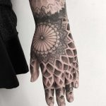 Left hand tattoo by tattooist Spence @zz tattoo