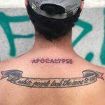 No apocalypse by Hand Job Tattoo