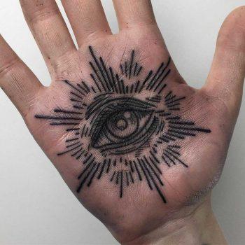 Occult eye tattoo by Luke.A.Ashley