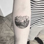 On the road trough the nature tattoo by Annelie Fransson