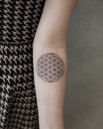 Perfect flower of life by Aki Wong