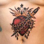Pierced heart by Javier Betancourt