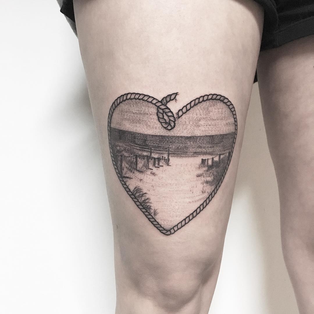 Seaview by tattooist Spence @zz tattoo