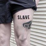 Slave tattoo by Julim Rosa