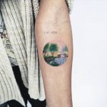 Small landscape by anton1otattoo