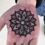Solid mandala on a palm by Luke.A.Ashley