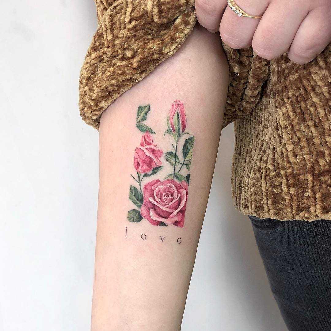 Spread the Love tattoo by Eden Kozo