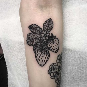 Strawberries by Deborah Pow