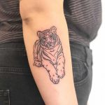 Sweet Tiger by Hand Job Tattoo