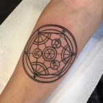 Transmutation circle tattoo by Luke.A.Ashley