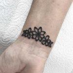 Triple flower by Deborah Pow