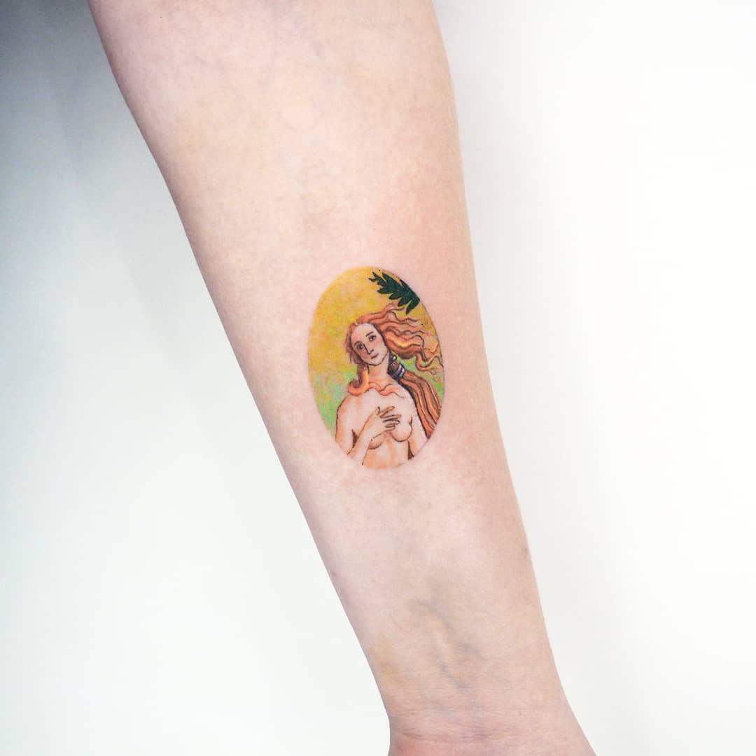 Venus tattoo by anton1otattoo