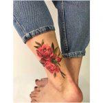 Watercolor flowers by Mavka Leesova